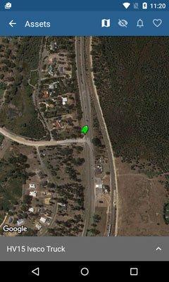 App satelite view