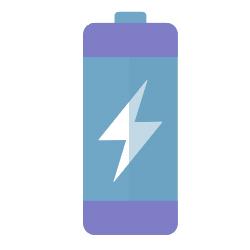 Enjoy long-lasting battery life