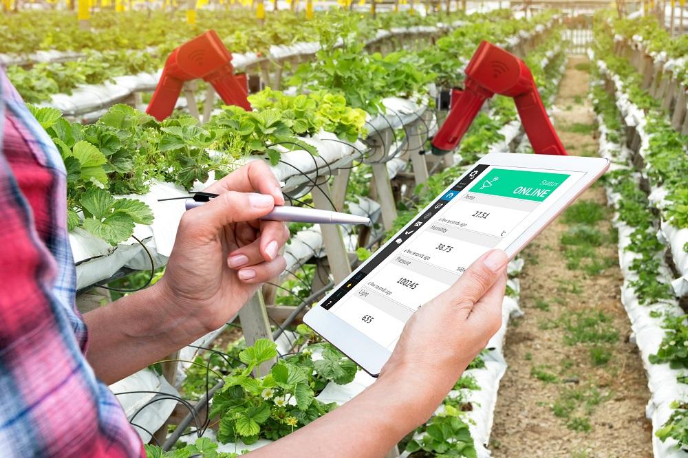Smart farming using BLE technology