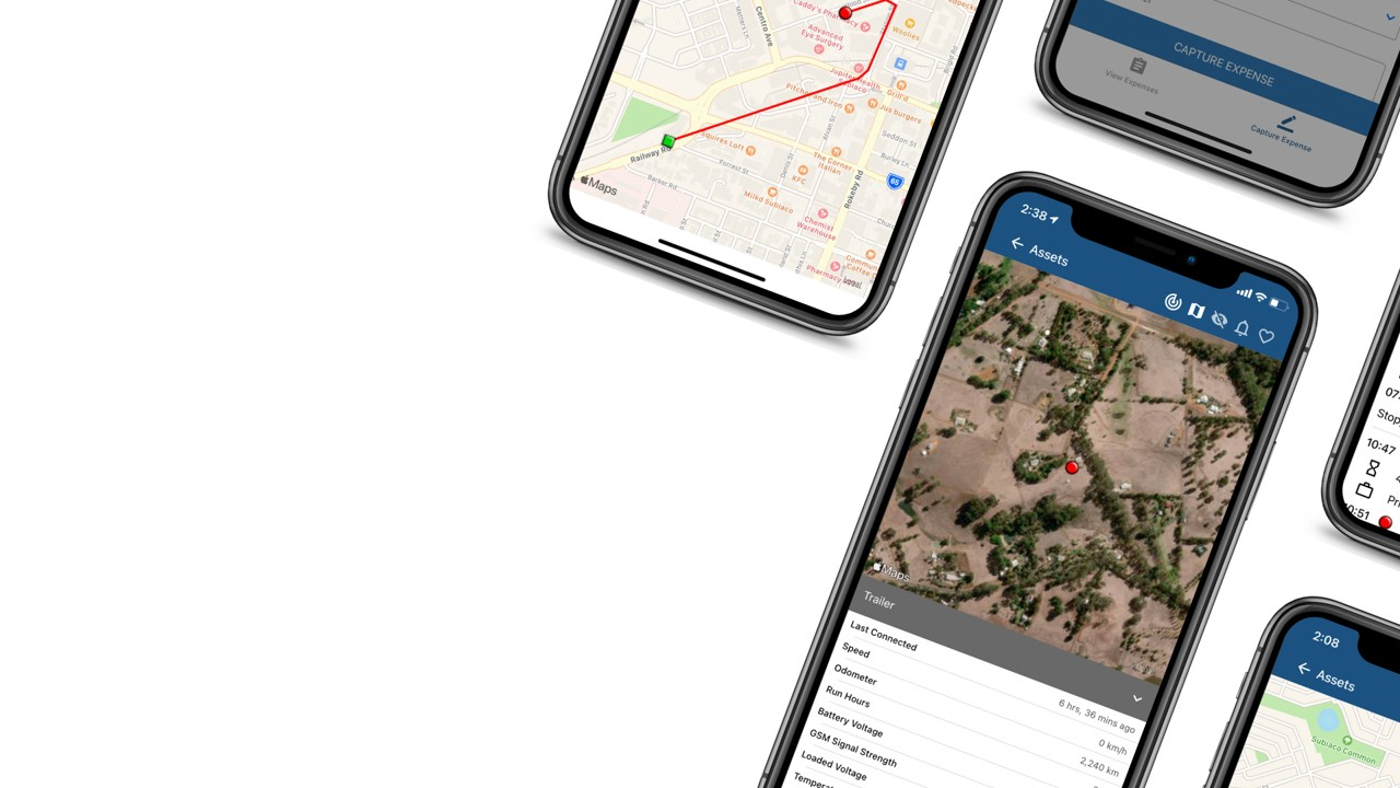 Mobile GPS Tracking APP