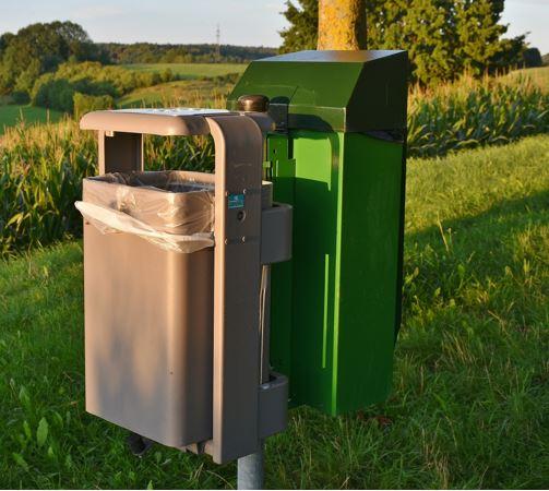 wireless bin level sensor -smart bins