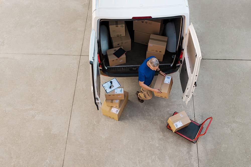 delivery driver for business