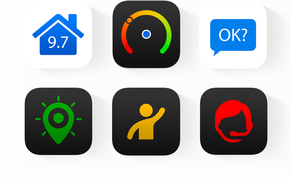 6 apps